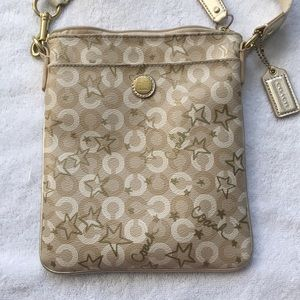 Coach Gold Crossbody Bag